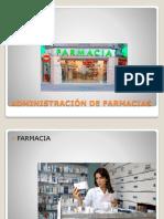 Administración de Farmacias