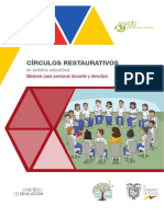 III Módulo Enfoque Restaurativo Docentes-Directivos