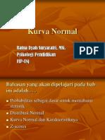 Kurva Normal statistik dasar