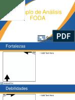 Ejemplo de Analisis Foda
