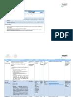 Planeación de actividades Fundamentos de Administración unidad tres