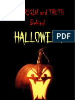 The Origin and Truth Behind Halloween