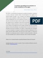 Adquisición y Comprensión Del Conocimiento Matemático Aplicado y Su Evaluación