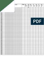 Tabela FEIJÃO