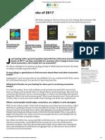 The Best Books on Best Economics Books of 2017 _ Five Books