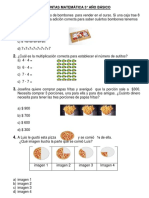 Preguntas Matemática