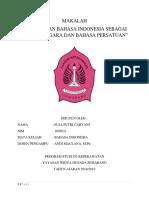 Makalah Penugasan 1 Individu Bahasa Indonesia