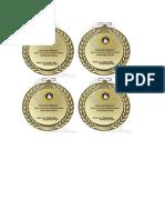 Cth Desain Mastering Medali