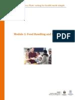 Food Handling and Storage
