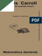 Carroll Lewis - Matematica Demente.pdf