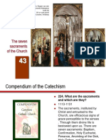 43. the Seven Sacraments of the Church