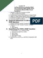 CCM vs DCM