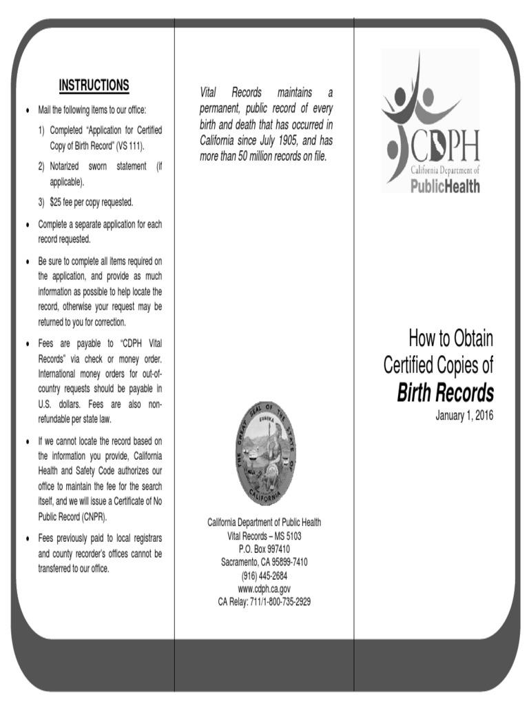 Procedimiento Para Acta De Nacimiento A Eeuu Desde Mexico Birth
