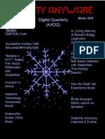 Ability Anyware Digital Quarterly (AADQ) Winter 2018