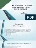 reviewongreensynthesisofsilvernanoparticles-171111174655