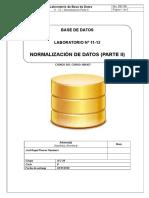 11 - 12 Normalización II-1