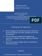 Thayer, Vietnam and the South China Sea Power Point Slides