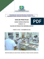 Guia de Practicas de Salado de Productos Hidrobiologicos Fecha