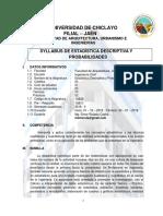 Silabus Estad. y Prob III - Ing Civil