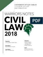 Warriors Civil law 2018