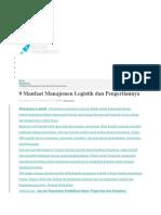 Maanfaat Management Logistik