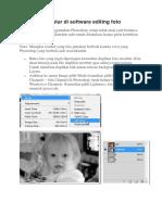 Memperbaiki Blur Di Software Editing Foto