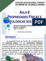 Aula 8 - Propriedades Físicas Dos Minerais (Imprimir)
