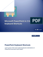 7.1 - Power Point Master Class Shortcuts