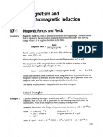Chapter 17 Magnetism and Electromagnetic Induction Problem Solving Exercises