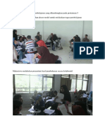 Dokumenetasi Implementasi Perangkat Pembelajaran Yang Dikembangkan Pada Pertemuan 5