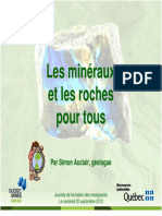 Mineraux Roches Simon Auclair