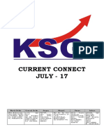 July 2017, Current Connect, KSG India