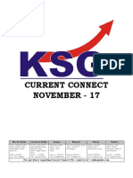 November 2017, Current Connect, KSG India