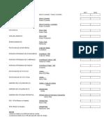 Plan de Cuentas General Empresarial