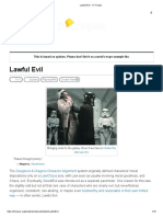 Lawful Evil - TV Tropes