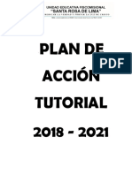 Plan de Acción Tutorial 2018 - 2019