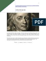 Cuentos Cuánticos - Leyes de Newton No Hay Más QueUna