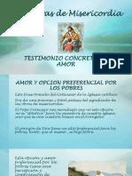 Conclusion Obras de Misericordia.