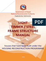 Light Timber Steel Frame Structure Manual