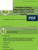 Prevention of Abuse Safeguarding of Vulnerable Adults Copy