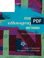 (Ethnographer's Toolkit (2010) 3) Jean J. Schensul Institute for Community Research, Margaret D. LeCompte University of Colorado Boulder-Essential Ethnographic Methods _ a Mixed Methods Approach-Alta