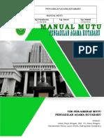 Manual Mutu PTA dan PA.doc