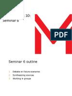 Seminar 6 Week 10 Slides 181002