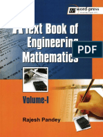 Pandey R.-A Textbook Of Engineering Mathematics. Volume 1.pdf