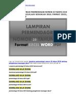 Download-Lampiran-permendagri-nomor-20-tahun-2018-format-excel-terbaru.doc
