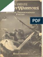 Fantasy Warriors - Regolamento Prima Versione