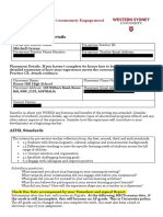 ppce self reflection form