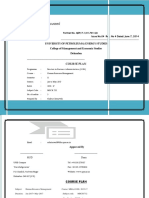 Course Plan HRM_AVM