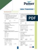 A 5to Año Lógica Proposicional I S1