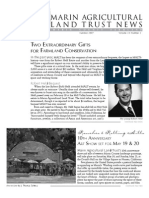 Summer 2007 Marin Agricultural Land Trust Newsletter